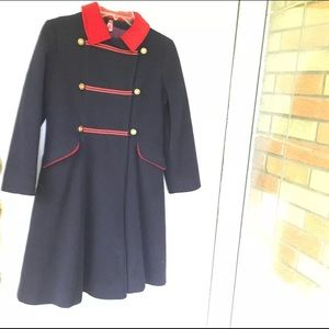 VINTAGE dress Coat Rothschild Wool Union Made